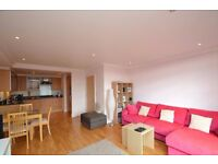 Amazing riverside 1 bed flat with balcony and underground parking in Brentford TW8
