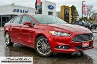 2014 Ford Fusion SE AWD W/LEATHER, ROOF, NAV