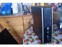 HP Gaming PC, Quad Core 3.2GHz, 4GB RAM, 500GB, Windows 10, WiFi, Radeon Graphics, Mini Desktop PC