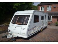 2006 elddis odyssey lux 524 /4 berth with awning,motormover, cris checked