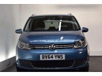 VOLKSWAGEN TOURAN 1.6 SE TDI BLUEMOTION TECHNOLOGY 5d 103 BHP Front (blue) 2014