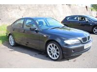 52 2002 E46 BMW 3 Series 1.8 316i SE 4dr,One former Keeper,New mot,FSH,px to clear