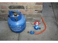 Gas bottle and regulators