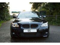 BMW 5 Series 4.8 550i M Sport Saloon, Carbon Black, Sunroof, HUD, Nav, Cheaper Tax, Economical M5