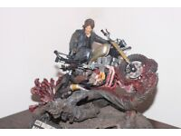 Limited Edition DARYL DIXON RESIN STATUE from The Walking Dead