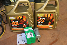 Service kit for 2010 Vauxhall Corsa 1.2 Petrol. No air filter!