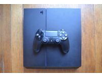 PS4 Console (perfect condition) with 1 controller, Elder Scrolls Online & Destiny
