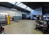 MOT centre and Car Show room in Chadwell Heath Industrial park-- Chadwell Heath