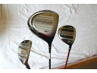 Nicklaus Driver, Wood & Hybrid Golf Clubs + 3 Covers