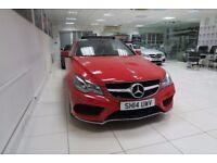 MERCEDES-BENZ E CLASS 2.1 E220 CDI AMG Sport 7G-Tronic Plus 2dr Auto (red) 2014