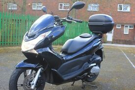 HONDA PCX 125 low miles, 2013, DATATAG security.