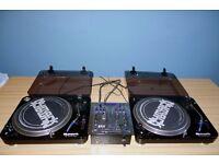 2 x Numark Decks and Mixer + Stanton cartridges