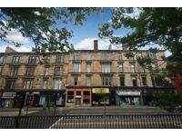 3 rooms available in a large, bright 4 bedroom flat on Great Western Road