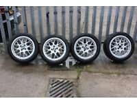 """BBS """"16 RX rims with Kumo Solus tyres"""