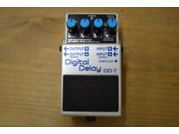 BOSS DD7 Delay loop pedal