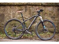 Cube Ltd Pro 29er mountain commuter bike - Edinburgh