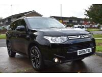 2015 Mitsubishi Outlander PHEV Auto Electric Hybrid 4x4 £0 Road Tax & 95+ MPG