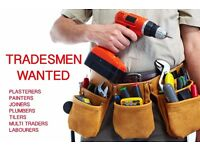 Looking to expand our team of skilled, reliable tradesmen for property development company