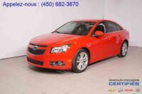 2013 Chevrolet Cruze LT TURBO + RS + JUPES + MAGS 18''