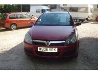 Vauxhall Astra Club cdti 100 est 2006-06-reg, 1700cc diesel turbo estate, 134,000 miles, MOT Feb