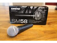 Shure SM58S Vocal Microphone with On Off Switch Brand New