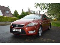 FOR SALE FORD MONDEO ZETEC TDCI 140 BHP WITH FULL SERVICE HISTORY AND MOT TILL OCTOBER 2016 £2000