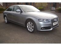 Audi A4 Saloon 2008, 1.8 TFSI SE 4dr - Low Mileage, Full service History, 4 New Tyres