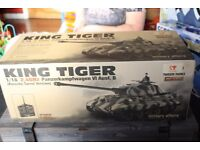 taigen king tiger tank 1/16