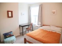 Furnished double bedroom to rent in a lovely quiet house. Monday – Friday