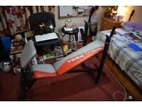 York Fitness Weights Bench (Foldable)