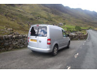 VW caddy 1.9 Tdi, microcamper, camper, campervan, day van, surf van
