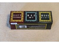 3 Fantastic Tabletop Games (60 Seconds, Who and I, World Bluff)