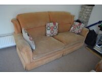 Fabric Sofa set for Sale 2 seater and 2x armchair