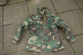 Rothco Woodland Camo M65 Field Jacket + Detachable Quilted Coldweather Liner