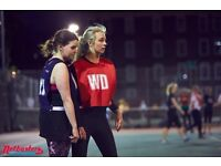 Back to Netball training in Camden