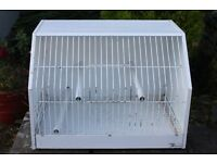 A metal Pet Cage by Terenzian of Italy