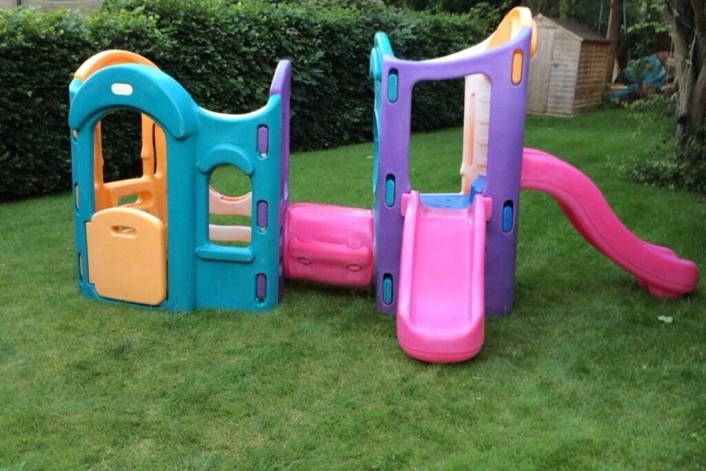 Little tikes 8 in 1 climbing frame in sandwell west for Little tikes 8 in 1