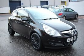 Best Deal Guarantee,2009 59 Vauxhall corsa 1.2***One owner from new***70000 miles***Mot 26/10/2017