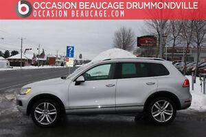 2014 Volkswagen Touareg EXECLINE NAV / GPS - TOIT PANO - CUIR -