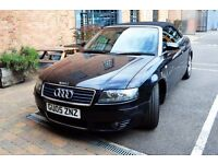 Audi A4 Cabriolet 2005 1.8T Sport Black Leather