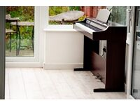Roland Digital Piano 88- keys Full size Hammer-Action weighted Keyboard,Stool,will deliver