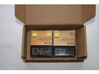 Genuine Nikon EN-EL8 Li-ion Rechargeable Battery (Twin Pack)
