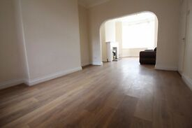 Newly renovated, unfurnished 3 bed property with large lounge/diner in Thornaby