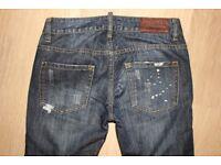 Ladies dsqaured jeans size 26