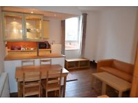 Simply beautiful two bedroom flat to let in Leith .