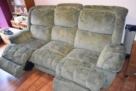 Electric Reclining 3 Seat Sofa