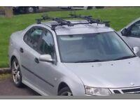 Thule roof bars for Saab 9-3 (2003+) & older BMWs