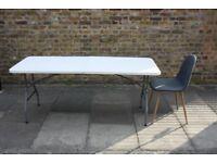 Folding Table: Heavy Duty 6 Foot Long