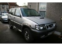 Nissan Terrano II 2.7 breaking all parts