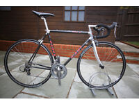 Giant CADEX 980c Carbon/Aluminum 54cm Vintage Road Racer - Serviced with New wheelset - 2 x 8 speed